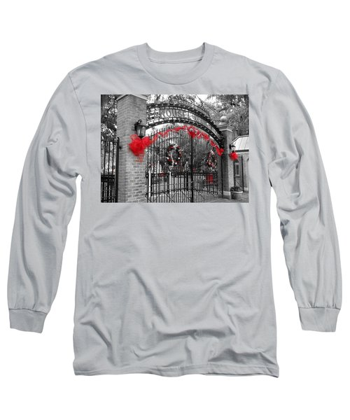 Carousel Gardens - New Orleans City Park Long Sleeve T-Shirt