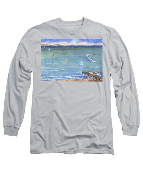 Catalina To Redondo Long Sleeve T-Shirt by Jamie Frier