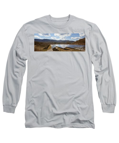 Long Sleeve T-Shirt featuring the photograph Catching Rays  by Carol Lynn Coronios