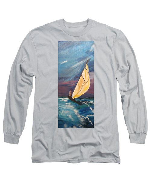 Catching The Wind Long Sleeve T-Shirt