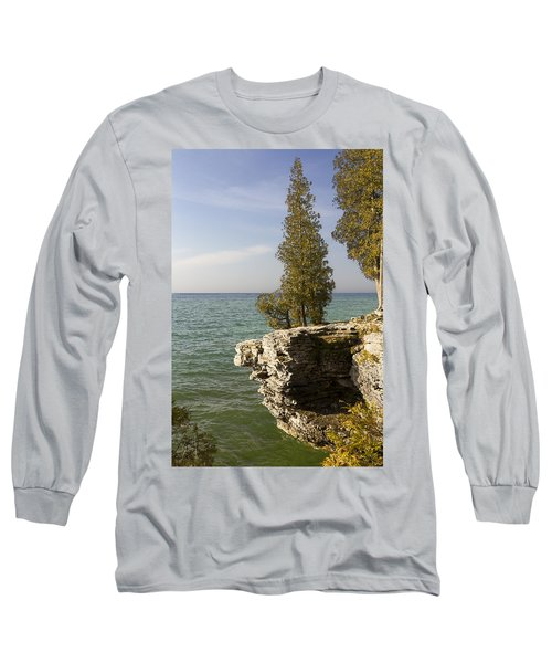 Cave Point - Signed Long Sleeve T-Shirt