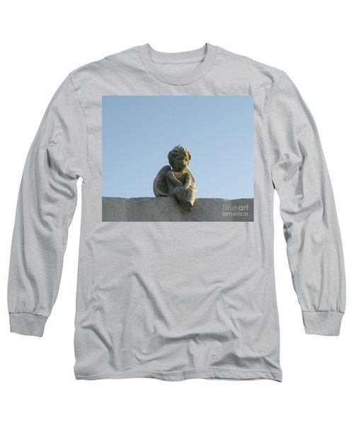 Cemetery Cherub Long Sleeve T-Shirt