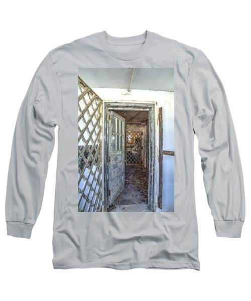 Chain Gang-1 Long Sleeve T-Shirt by Charles Hite