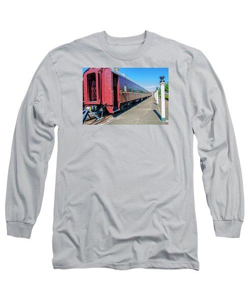 Long Sleeve T-Shirt featuring the photograph Chattanooga Choo Choo 1 by Susan  McMenamin