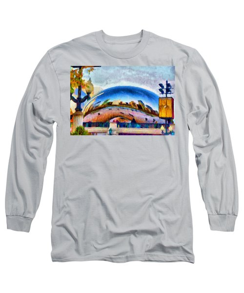 Chicago Reflected Long Sleeve T-Shirt