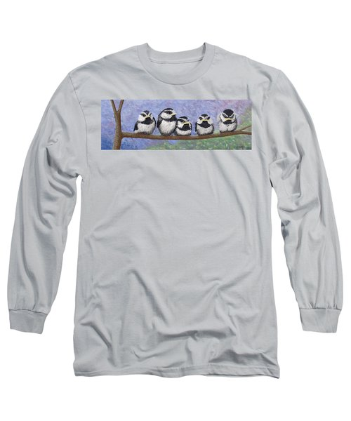Chickadee Chicks Long Sleeve T-Shirt