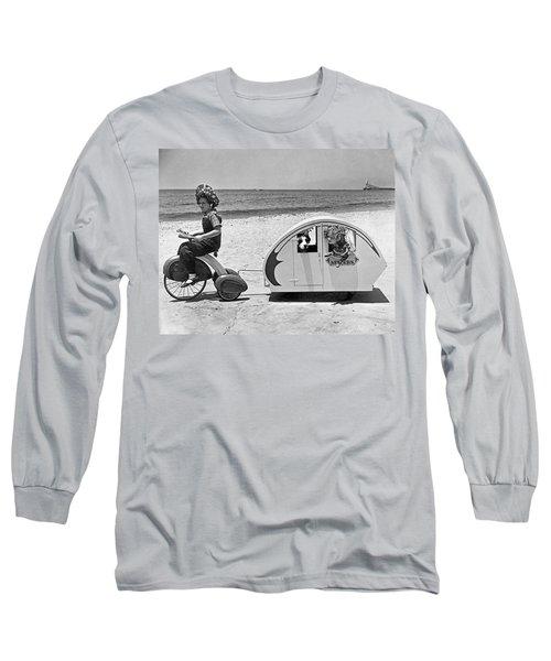 Children Beach Tour Long Sleeve T-Shirt