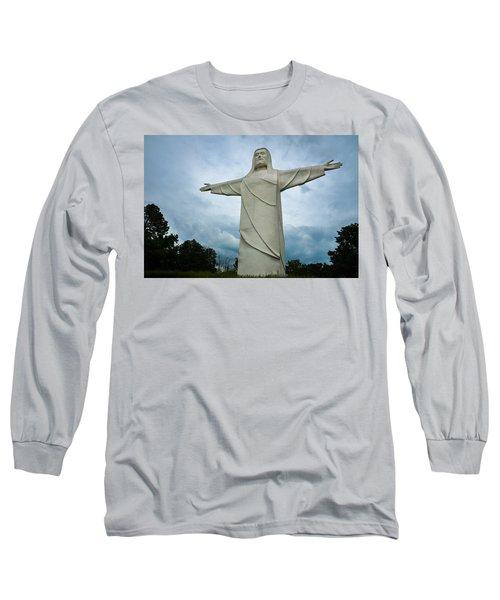 Christ Of The Ozarks Long Sleeve T-Shirt