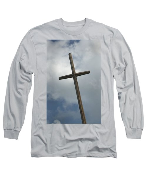 Christian Cross Long Sleeve T-Shirt