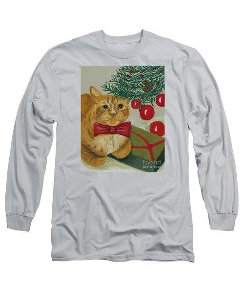 Christmas With Rufus Long Sleeve T-Shirt