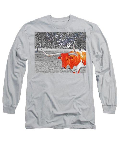 Cibolo Longhorn Long Sleeve T-Shirt