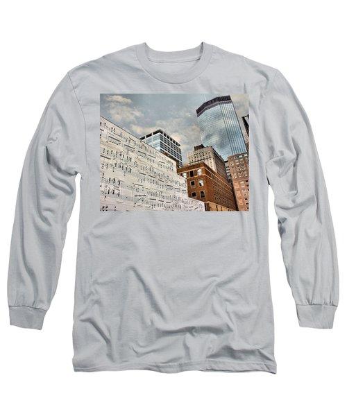 Classical Graffiti Long Sleeve T-Shirt by Kristin Elmquist