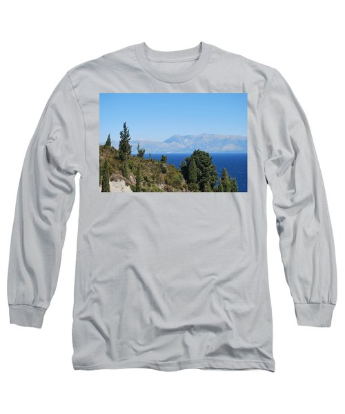 Long Sleeve T-Shirt featuring the photograph Clear Day by George Katechis
