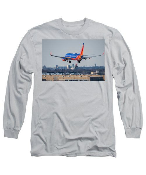 Cleared For Landing Long Sleeve T-Shirt by Tom Gort