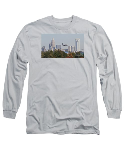 Cleared To Land Long Sleeve T-Shirt by Kevin McCarthy