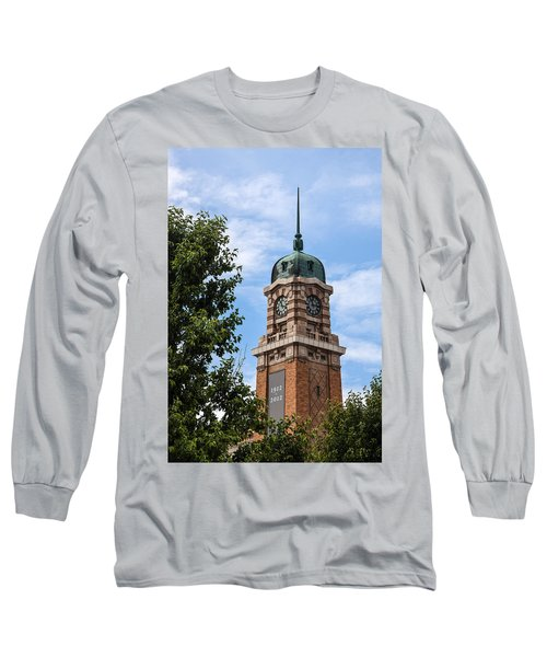 Cleveland West Side Market Tower Long Sleeve T-Shirt