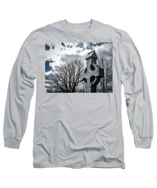 Clondegad Celtic Cross Long Sleeve T-Shirt