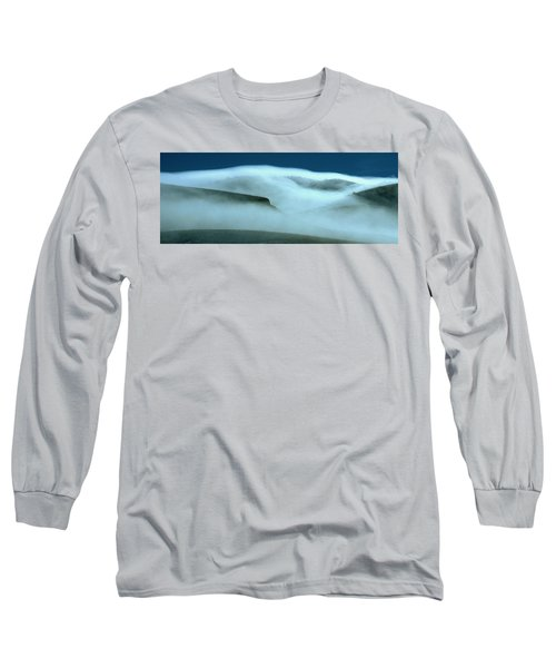Cloud Mountain Long Sleeve T-Shirt by Ed  Riche