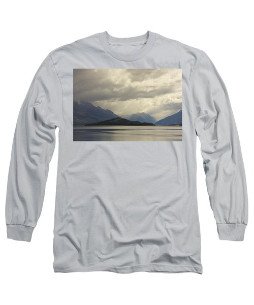 Long Sleeve T-Shirt featuring the photograph Clouds Over Wakatipu #2 by Stuart Litoff