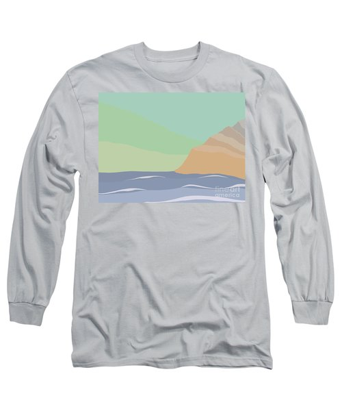 Coastal Bank Long Sleeve T-Shirt by Henry Manning