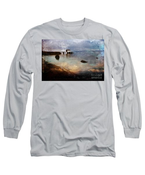 Coastal Path Long Sleeve T-Shirt by Randi Grace Nilsberg