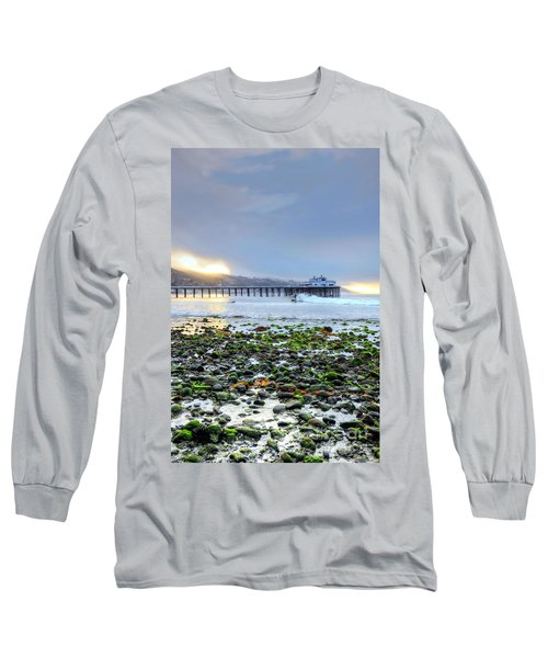 Cobblestone Sunrise At The Bu Long Sleeve T-Shirt