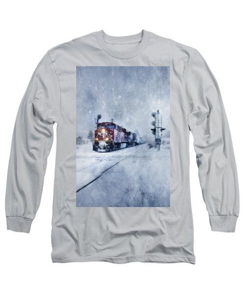 Cold Nights On The Midnight Train Color Long Sleeve T-Shirt