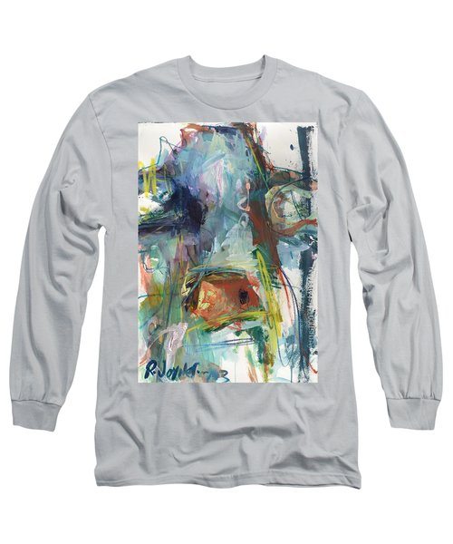 Colorful Cow Print Long Sleeve T-Shirt