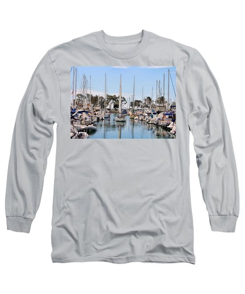Come Sail Away Long Sleeve T-Shirt by Tammy Espino