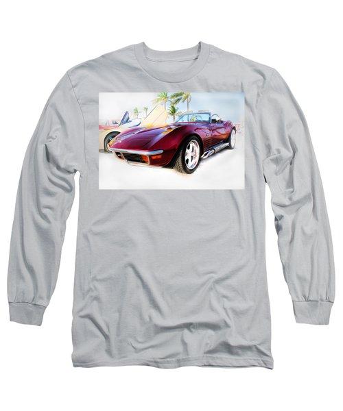 Chevrolet Corvette Series 02 Long Sleeve T-Shirt