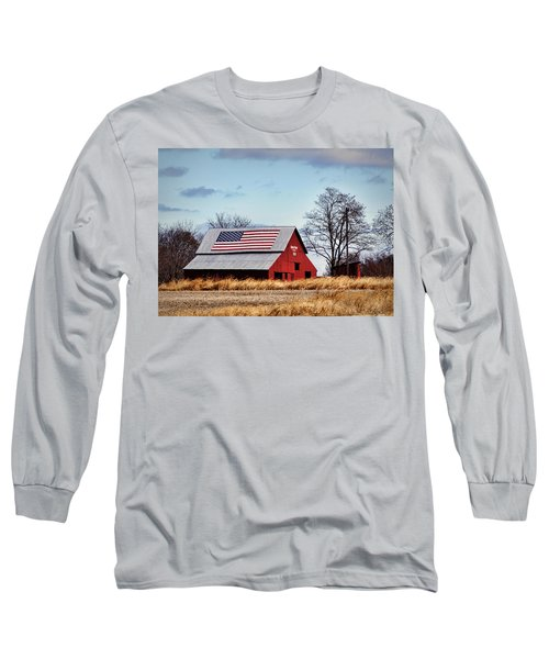 Country Pride Long Sleeve T-Shirt by Cricket Hackmann