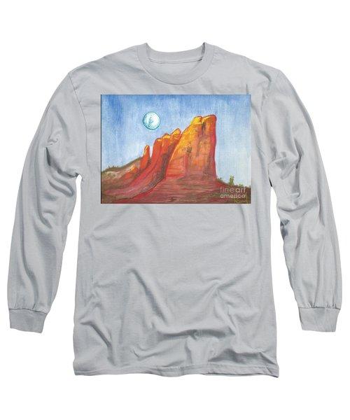 Court House Butte  Long Sleeve T-Shirt
