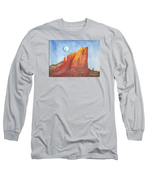 Court House Butte  Long Sleeve T-Shirt