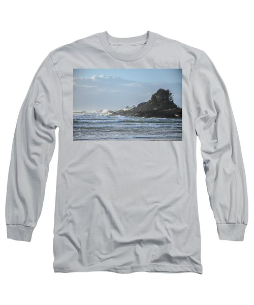 Cox Bay Afternoon Waves Long Sleeve T-Shirt