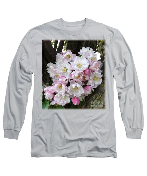 Crab Apple Blossoms Long Sleeve T-Shirt