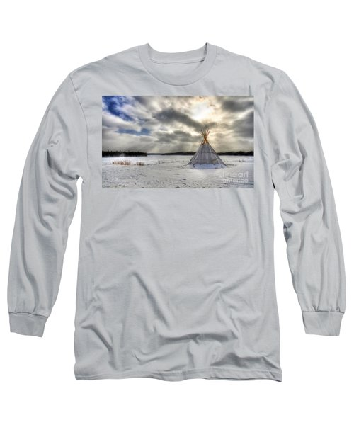 Cree Tepee Long Sleeve T-Shirt