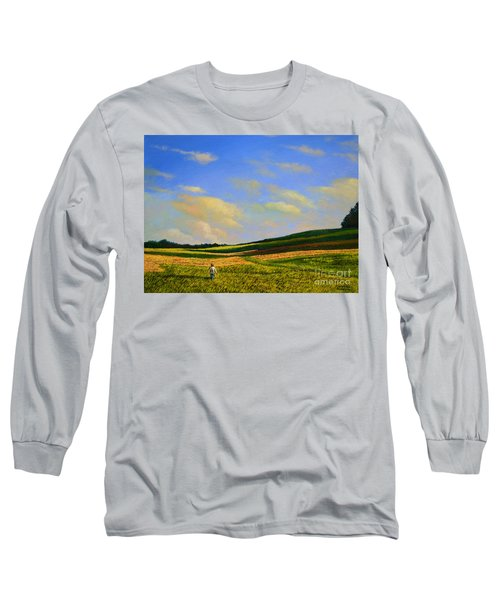 Crossing The Field Long Sleeve T-Shirt