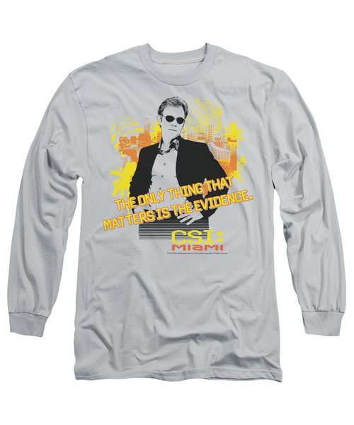 Csi Miami - Hand On Hips Long Sleeve T-Shirt by Brand A