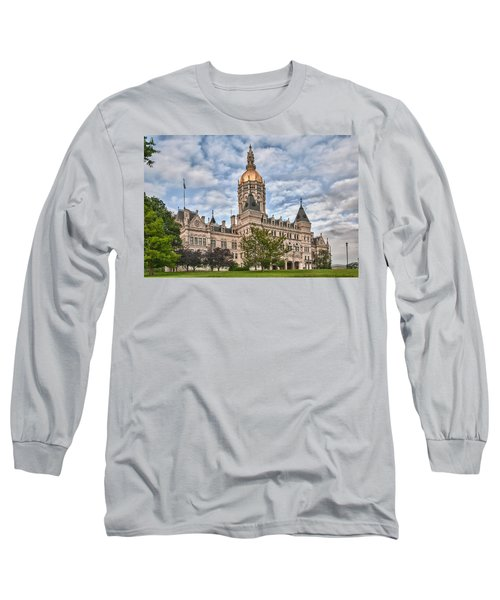 Ct State Capitol Building Long Sleeve T-Shirt
