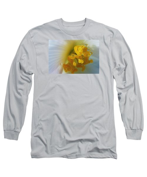 Long Sleeve T-Shirt featuring the photograph Curly by Wendy Wilton