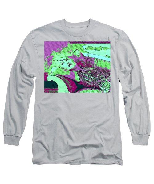 Cyndi Lauper Long Sleeve T-Shirt