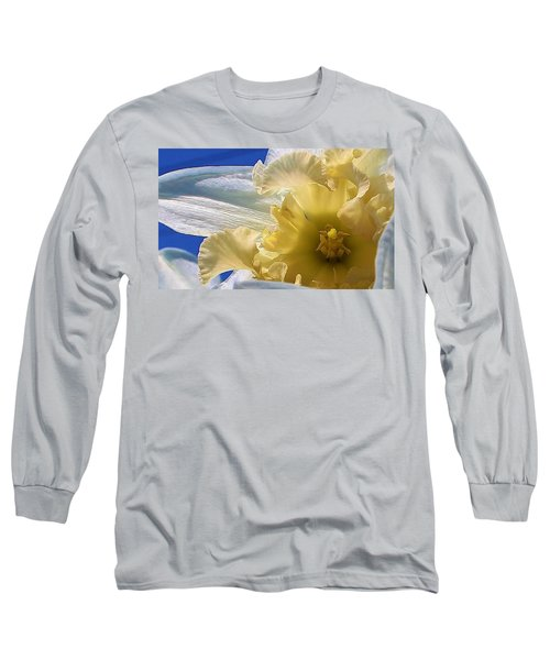 Long Sleeve T-Shirt featuring the photograph Daffodil In The Sun by Bruce Bley