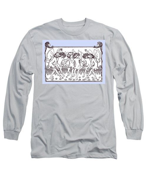 Dancing Fairies From 1896 Long Sleeve T-Shirt