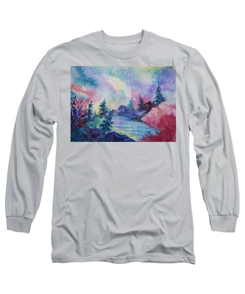 Dancing Lights II Long Sleeve T-Shirt