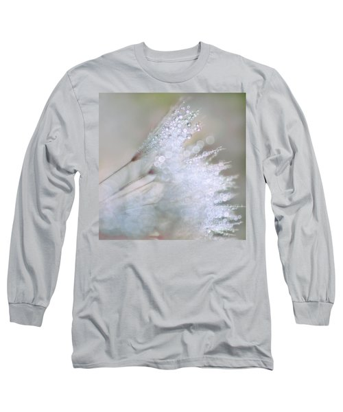 Dandelion Bling Bokeh Long Sleeve T-Shirt by Peggy Collins