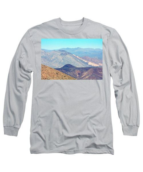 Long Sleeve T-Shirt featuring the photograph Dante's View #5 by Stuart Litoff