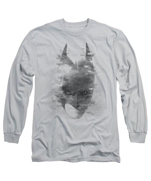 Dark Knight Rises - Bat Head Long Sleeve T-Shirt