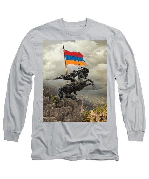 David Of Sassoun Long Sleeve T-Shirt