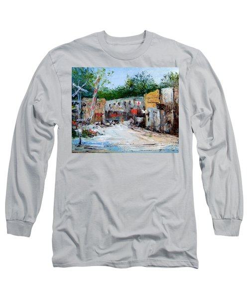 Railroad Crossing Long Sleeve T-Shirt