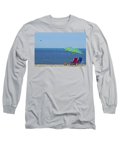 Daytime Relaxation Long Sleeve T-Shirt